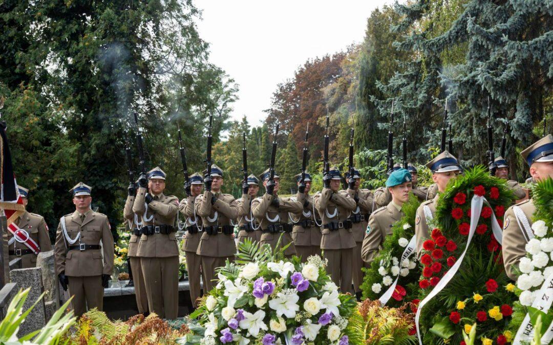 Pogrzeb na Warszawskich Powązkach