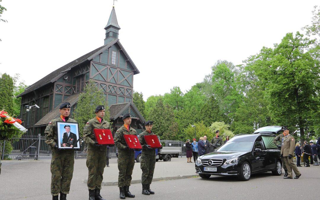 Pogrzeb mjr Mariana Słowińskiego